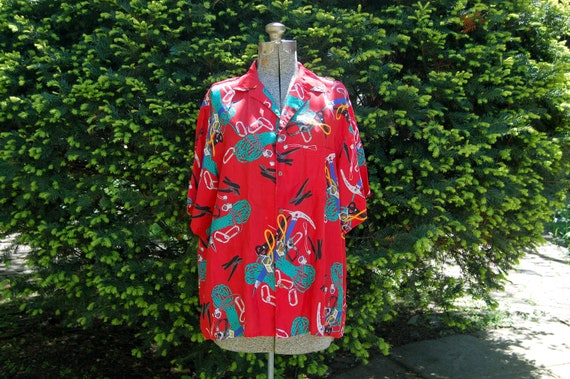 Hawaiian shirts retro Newt at