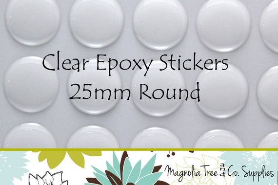 Domes FREE SHIPPING Dots 22x30mm Oval Clear Epoxy Stickers Seals