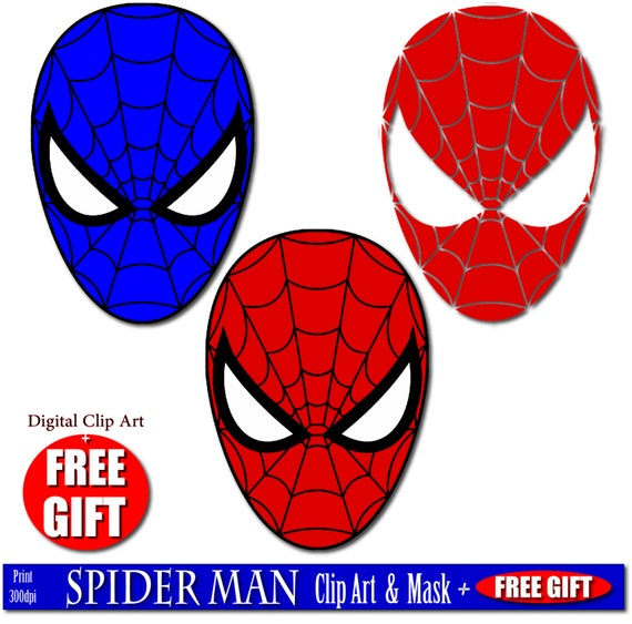 Digital clip art spiderman mask superhero party masks clipart digital clip art spiderman mask superhero party masks clipart printable mask spider man birthday spiderman party favor spiderman costume diy from digift on stopboris Gallery