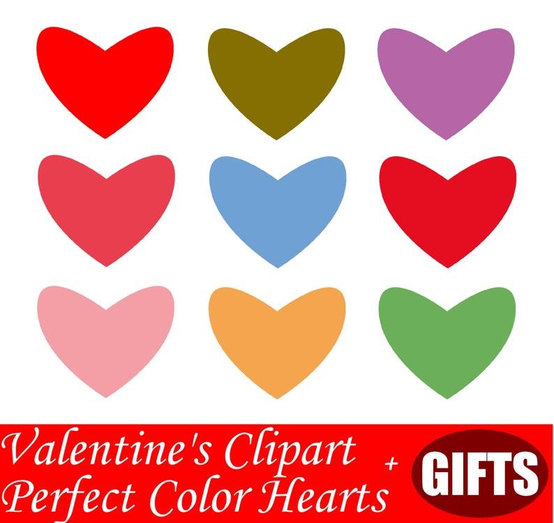 Hand Drawn Heart Clipart Pastel Hearts Decal Heart Decor Heart Etsy