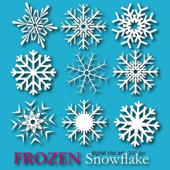 Snowflake Clipart Images, Stock Photos & Vectors | Shutterstock