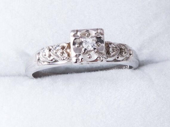 Nieruchomości Diamond Engagement Ring Pierścionek Zaręczynowy Etsy