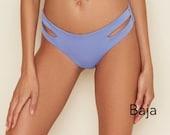 Seamless Cutout Moderate Coverage Bikini Bottom, Swimwear Bottom, Swimsuit, Bathing Suit