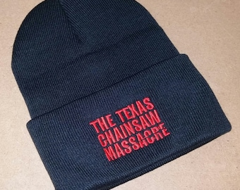 52856f969 Texas Chainsaw Massacre Custom Beanie