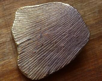 "bronze pendant ""butterfly wing"""