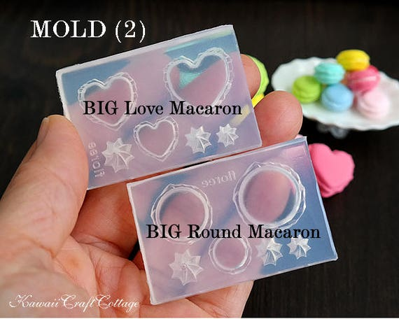 24 Pcs.of Dollhouse Miniature Macaroon 3.2 cm Look like Real Macarons