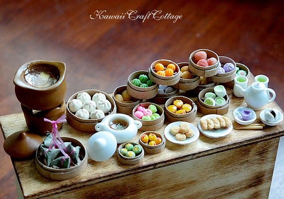 6 Stücke Mini Kaffeetasse Miniatur Puppenhaus Essen Trinken Hause Geschirr O MW