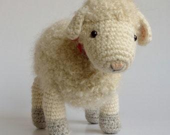 Crochet pattern Cora the Sheep, Sheeps / Lamb (US terms)