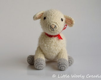 Crochet pattern Sofie and Lucie the little Lambs, Sheep / Lamb (US terms)