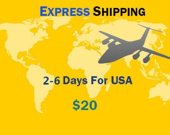 Express Shipping Coupon 20 USD(please leave your phone number)