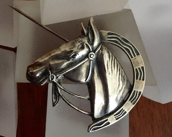 Sterling Silver Horse Head PinSterling Horse Shoe PinLang Sterling Horse Head PinLang Sterling Horse PinLang Horse PinSterlingHorseShoe
