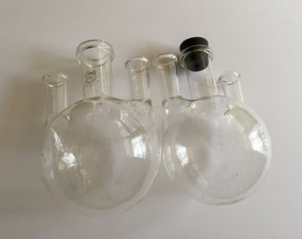 Vintage Pyrex Science Beaker with Gas Attachment Science Vase
