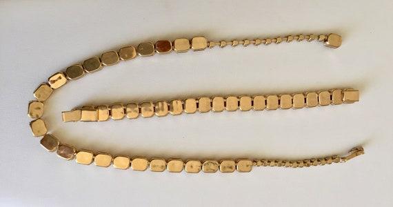 Kramer Topaz Rhinestone Bracelet Necklace/Kramer … - image 8