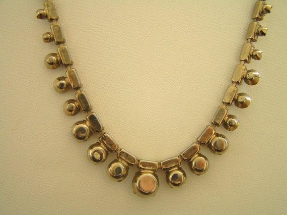 Weiss Rhinestone Necklace, Vintage Weiss Aurora B… - image 3