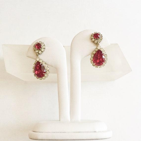Egyptian Revival Scarab Earrings -Boho Chic Beetle Earrings Mid Century Earrings Bohemian Vintage SCARAB Tri-color Clip On Earrings