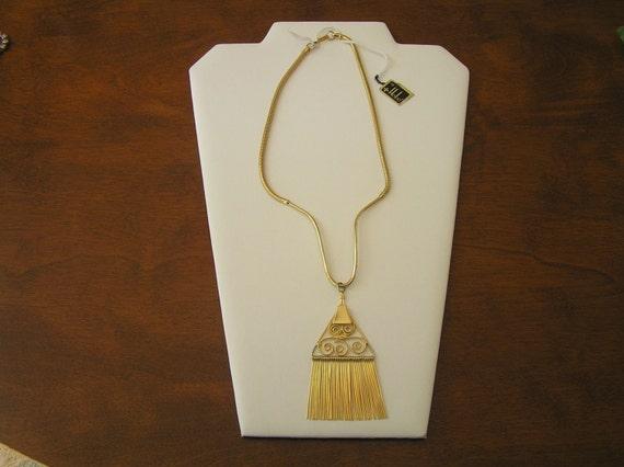 Hobe Art Deco Necklace, Hobe Art Deco Fringe Neckl