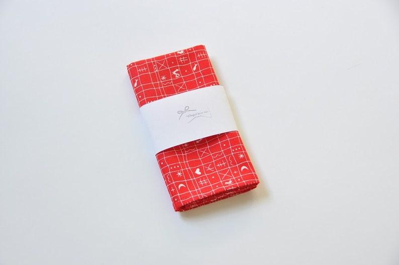 6f61087711dab Red pocket square Christmas pocket square Red men's pocket | Etsy