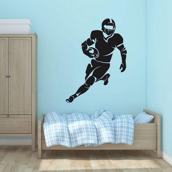 Vinyl Wall Decal Sticker Football Player Design 5087m