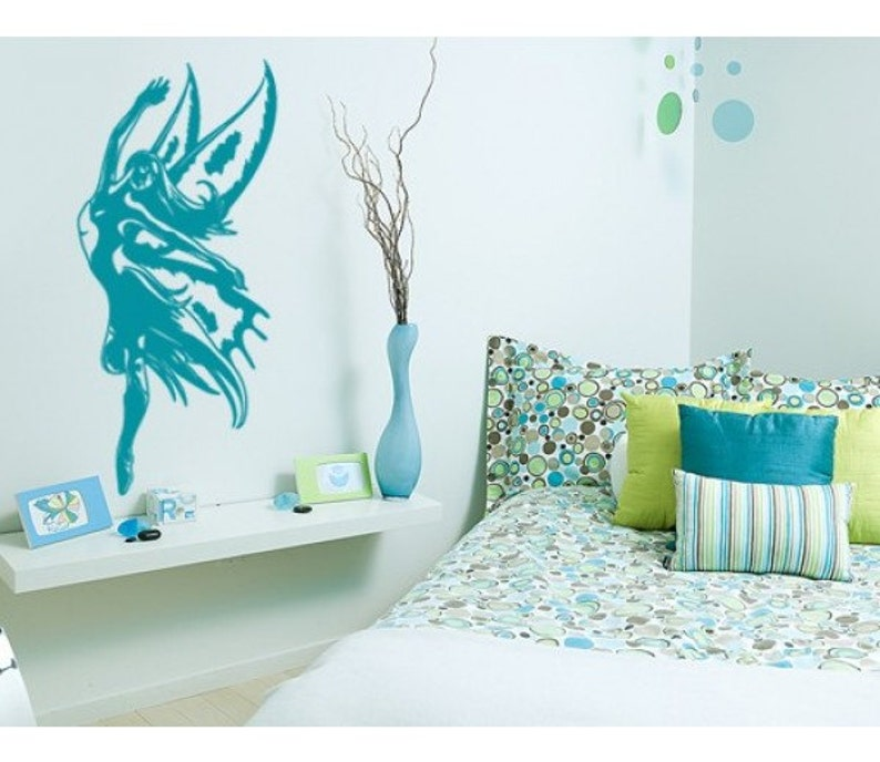 sticker vinyl wall art Fairy Magic fantasy wall decal mural