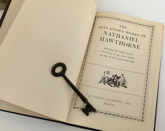 The Best Known Works of Nathaniel Hawthorne ~ Literary Classics, Inc. Hardcover Edition
