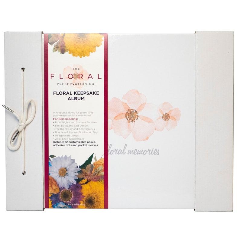 Floral Preservation Album Photo Album Developed with David image 0