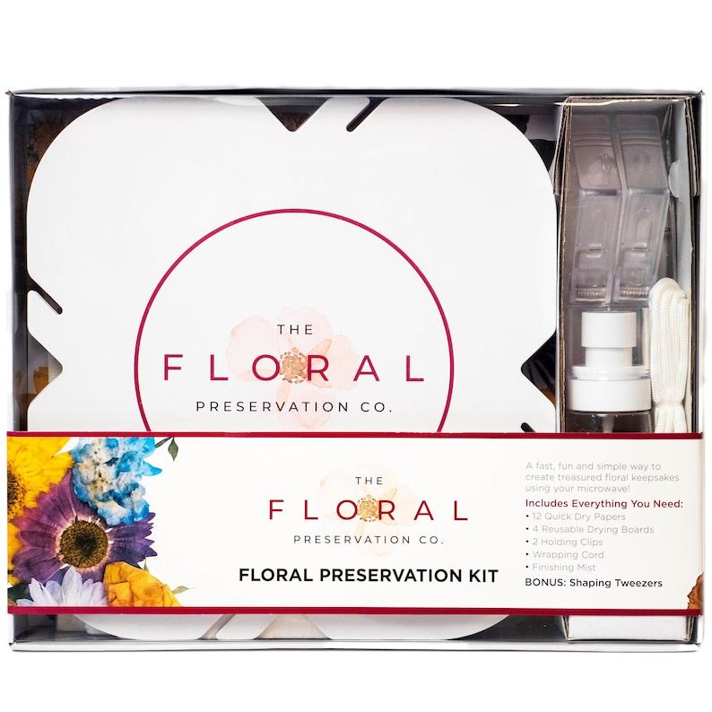 Floral Preservation Kit  DIY Flower Preserving Kit for Photo image 0