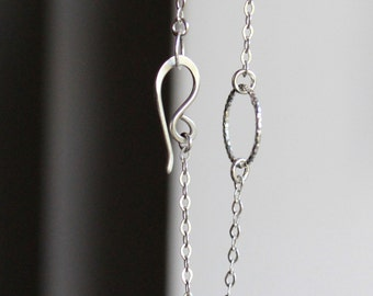 Sterling Silver Circle Bracelet Minimal Bracelet Simple Silver Bracelet Everyday bracelet dainty silver bracelet eternity bracelet