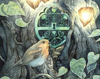 The Bird's Key - Print