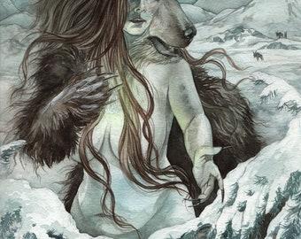 Bear of the North - Print