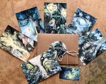Tree Door Postcard Set