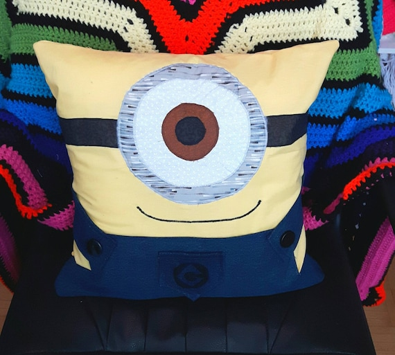 Minion Pillow Cyclops or Two eyes   Etsy