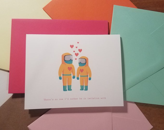 Isolation Love Folded Note 10 Pack