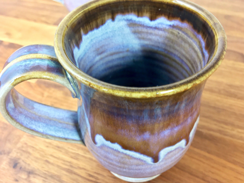 Rutile Brown dripped Mug