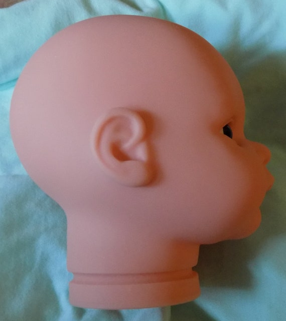 New Secrist Translucent Kelly Head with Newborn Midnight Blue Eyes This Listing is ONLY for the Head.