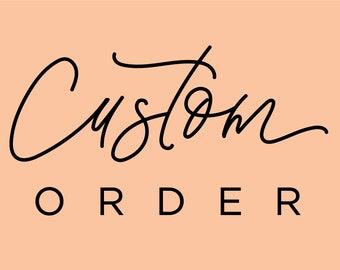 Reserved Custom Listing for Jenny