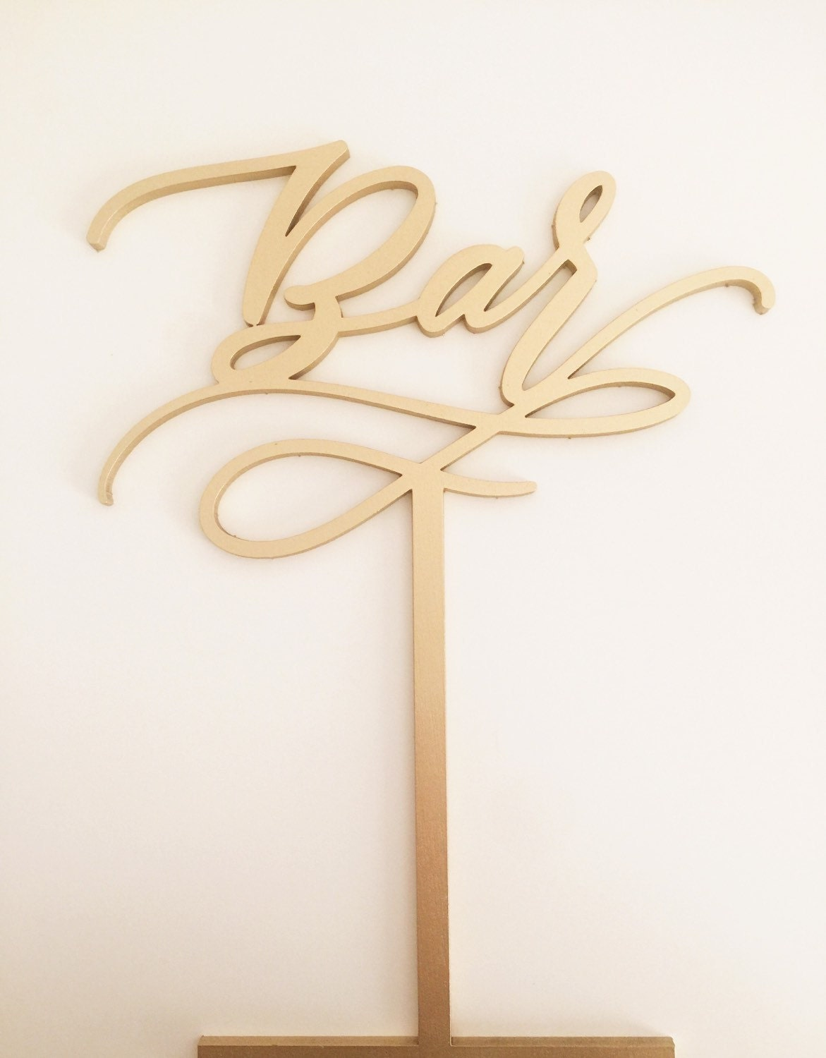 Free Standing Laser Cut Signs Gifts Sweets Bar