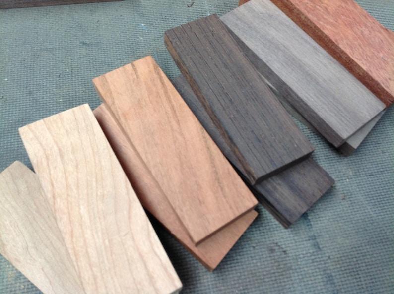 Wood Knife Scales / Wood Knife Handles