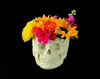 Skull Planter LG