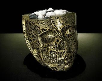 Serenity skull painted