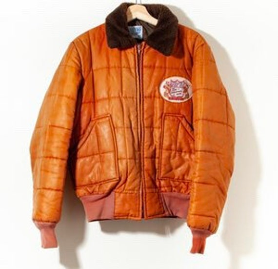 80s NFR Hesston Rodeo Parka Puffer Jacket