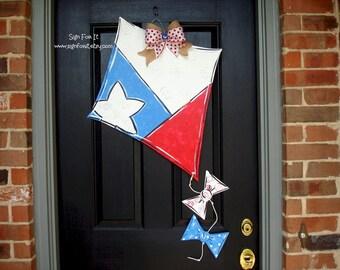 Texas Kite Door Sign