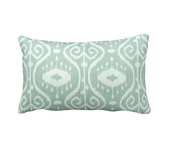 Green Throw Pillow Cover Mint Green Pillow Cover Sage Pillows Etsy New Sage Green Decorative Pillows