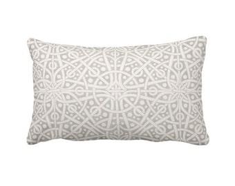 Grey Throw Pillow Covers Decorative Pillows Gray Pillows Grey Pillows Decorative Throw Pillows Celtic Decor Lumbar Pillows 12x24 Pillows