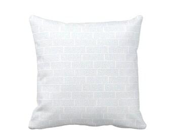 Decorative Pillows for Sofa Pillows Decorative Throw Pillow Cover Blue Throw Pillows Toss Pillows Accent Pillows Greek Key Pillows Cushions