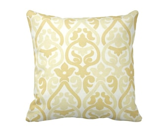7 Sizes Available: Decorative Pillow Throw Pillows Yellow Pillow Cover 24x24 Pillow 20x20 Pillow 18x18 Pillow 16x16 Pillow Accent Pillow