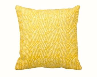 SALE | 30% OFF: Throw Pillow Cover Decorative Pillow Yellow Pillow Herringbone Pillow Yellow Home Decor Sofa Pillow Accent Pillow