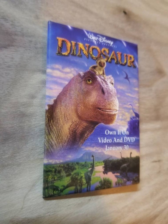 Dinosaur Movie Vintage Collectible Movie Pinback B