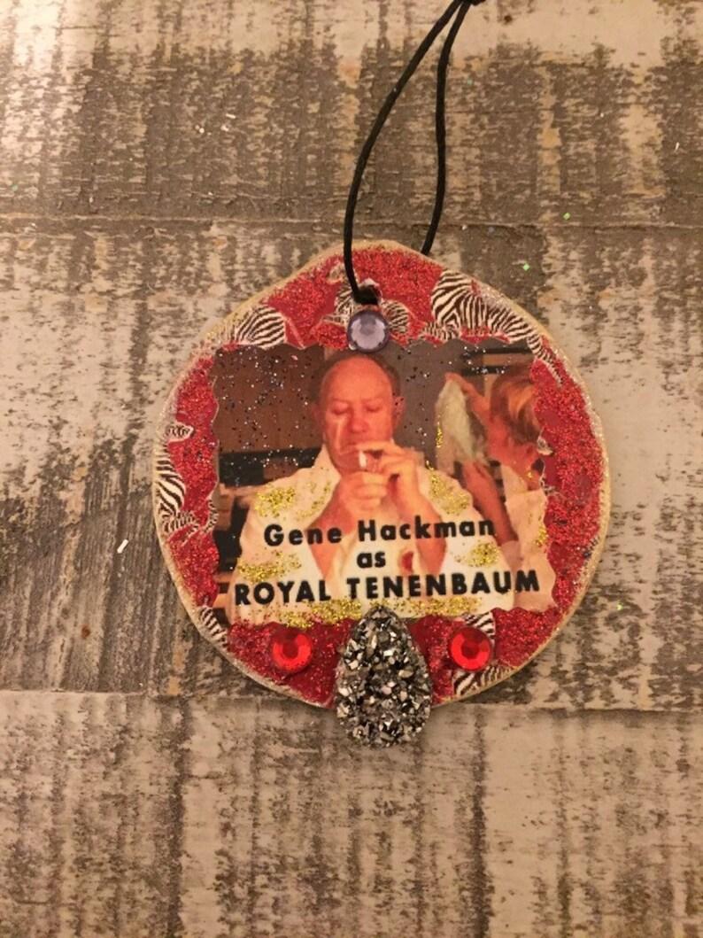 Set of 8 Royal Tenenbaums Christmas Tree Ornaments