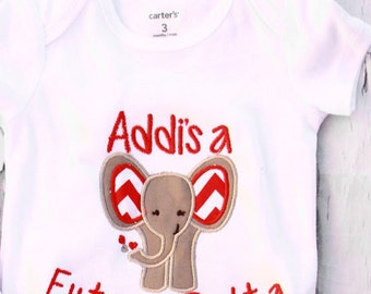 Baby Girl Future Delta Onesie Delta Sigma Theta Baby girl outfit, Custom Delta Shirt this outfit come with a matching red headband