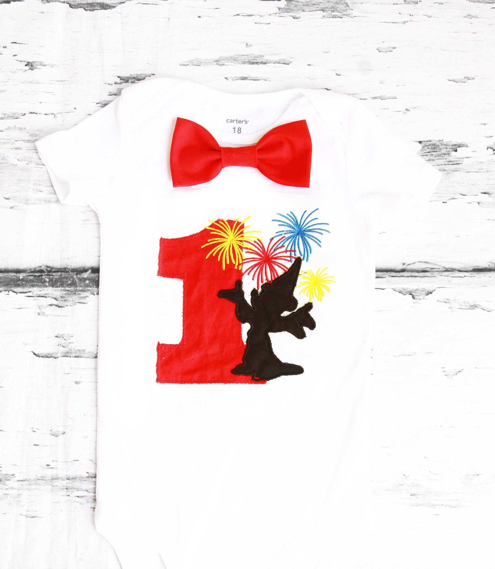 Baby First Birthday Mickey Mouse Fireworks Themed Cake Smash Etsy Carters 3 Pieces Orange Outfit Boy 1st One Year Bow Tie Onesie Shirt